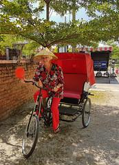 On the loose (ShambLady) Tags: loose trishaw rickshaw red chinese hat ipoh qin xing bing 2018 rojo rot rouge bicycle دراجة fiets велосипед সাইকেল fietsen wheels 自行车 wiel 自行車 wielen wheel साइकिल bicycles אופנים cykel ಸೈಕಲ್ polkupyörä 自転車 vélo دوچرخه fahrrad roti รถจักรยาน fahrräder ποδήλατο sepeda 자전거 basikal וועלאָסיפּעד bicicletta سائیکل rower சைக்கிள் bicicleta సైకిల్ bisiklet bike bikes chapeau หมวก chapéu sombrero καπέλο hut 모자 hoed قبعة шапка 帽子 כּוֹבַע pălărie
