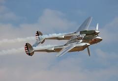 N25Y Lockheed P-38L Lightning (R.K.C. Photography) Tags: n25y lockheed p38l lightning fighter warbird flyingbulls airshow aviation aircraft duxford flyinglegends redbull american england unitedkingdom cambridgeshire iwm uk canoneos100d