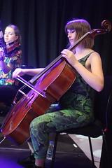 String Ting  (2018) 05 (KM's Live Music shots) Tags: jazz greatbritain stringting cello ligetiinwonderland fridaytonic southbankcentre