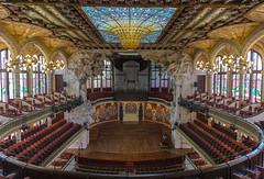 Palau de la Música Catalana (jen.ivana) Tags: indoor building interior concert light history art nouveau