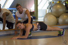 (Adrienn723) Tags: trainer portfolio portrait training fit fitness weights sports male guy entrenar entrenador commercial deportivo fun