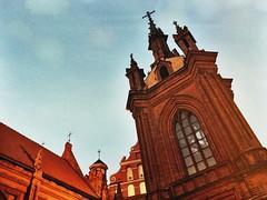 Church of St. Ann, Vilnius (no.sad.tomorrow) Tags: vilnius lithuania lietuva church stann architecture gothics history culture art