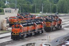BNSF 1579 (CC 8039) Tags: bnsf trains sd452 sd402 sd75m ac44cw c449w galesburg illinois