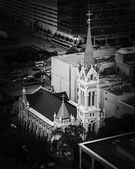 Annunciation Catholic Church (Mabry Campbell) Tags: annunciationcatholicchurch catholic hariscounty houston march texas architecture blackandwhite building church downtown historin image photo religion f28 mabrycampbell may 2018 may262018 20180526untitledcampbellh6a6141 100mm ¹⁄₁₆₀₀sec 100 ef100mmf28lmacroisusm