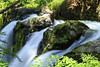 5IMG3003 Triple Header (Glenn Gilbert) Tags: waterfall water forest rocks rocky river trees smooth horizontal image color canon landscape solduc olympic national park washington