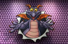 Figment (Rick & Bart) Tags: waltdisneyworldresort disneyworld disney epcot rickvink canon eos70d orlando florida usa rickbart imagination figment dragon purple