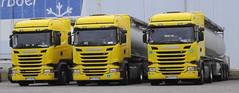 3x Scania R450HL streamline Tonpol [Pl] (rommelbouwer) Tags: scania r450 tonpol streamline