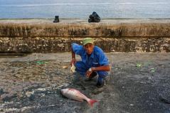 Havana (Hemo Kerem) Tags: cuba havana street travel vacation people malecon fisherman portrait canonfd24mmf28 canonfd manualfocus mf canon fd sony sonynex6 nex