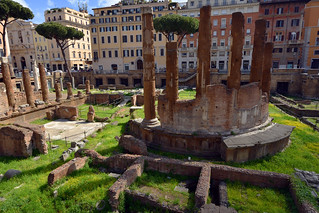 Largo di Torre Argentina, Rome  -  (Selected by GETTY IMAGES)