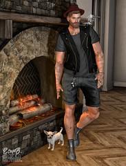 . EohB . #Catwa #Straydog #Modulus #Bolson #Etham #Kalback #MOM #ValeKoer (Crayolas Clothes) Tags: catwa straydog modulus bolson etham kalback mom valekoer gay guy men man dude stud thick mate buddy bro brother sl slfashion slmen secondlife belleza muscle short best fire hat hipster avatar