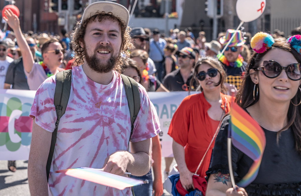 ABOUT SIXTY THOUSAND TOOK PART IN THE DUBLIN LGBTI+ PARADE TODAY[ SATURDAY 30 JUNE 2018] X-100032