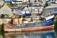 FR416 Silver Fern - Fishing Trawler Scrapped - MacDuff Shipyard Aberdeenshire Scotland -3/7/2018 (DanoAberdeen) Tags: shipbuilders fishingtrawler trawlermen macduffshipbuilders macduffshipyards fraserburghharbour fr416silverfern silverfern fr416 candid tug boat aberdeenshire amateur 2018 fraserburgh whitefish abandoned neglected scrap scrapped destroyed danoaberdeen weathered crusty rusty unloved divorce fishing fish scottishtrawlers scotland murder death harbour macduff banff shipyard seaport unhappy sorrow sad crying dismembered mutilated skipper captain deck 1982 80s eighties 1980s british uk built alone ship cod salmon haddock creel shellfish trawlers seafarers maritime macduffscotland scottish shipspotting