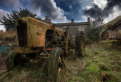 deralict (Phil-Gregory) Tags: nikon naturalphotography naturalworld farm tractor deralict peakdistrict ruin sky hdr tokina tokina1120mmatx 1120mm 1120mmf28 1120mmproatx 1120mmproatx11 wideangle ultrawide
