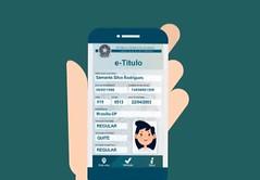 Aplicativo de celular poderá ser usado como Título de Eleitor na eleição (portalminas) Tags: aplicativo de celular poderá ser usado como título eleitor na eleição
