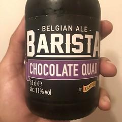 Barista Belgian Ale (Pax Delgado) Tags: beer belgian tijuana bottle cereza belga chocolate barista