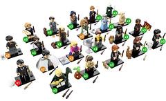 Nouvelle série Lego Minifigures Harry Potter à collectionner (Shady_77) Tags: lego minifigures minifigs minifig harrypotter lesanimauxfantastiques