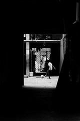 Light and shadows (Frederik Trovatten) Tags: flickr bnw blackandwhite shadow shadows light streetphotography street streets streetportrait streetphotos soccer football x100f fuji fujifilm public kid kids playing mexico photographer