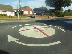English Football Art... (Julie Rutherford1 ( off/on )) Tags: road sign england roadsign english flag st george roundabout cross its coming home football worldcup julie rutherford
