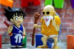 Sweet Goal - Bijou Planks 193/365 (MayorPaprika) Tags: mini figs figure paprihaven pvc miniature smallscale figurine theater diorama toy story scene custom bricks bijouplanks plastic vinyl canoneosrebelt6i macro dbz dragonballz roku masterroshi