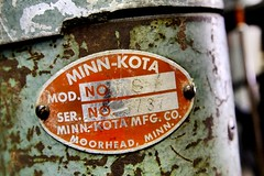 Minn-Kota Motor (Laurence's Pictures) Tags: janesville wisconsin lures outdoors fishing supplies hooks bait rod reel