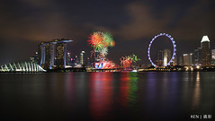 NDP 2018 NE2 Fireworks #2 (Ken Goh thanks for 2 Million views) Tags: mbs artscience museum singapore skyline night cbd photography landscape np 2018 ne2 fireworks pentax k1 dfa 2470 f28