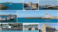 Montage - Village de pêcheurs, Howth, Irlande (rivai56) Tags: montage collage villagedepêcheurs howth irelande irlande