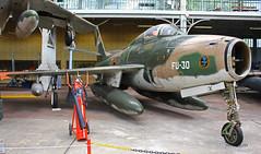 Republic F 84F Thunderstreak ~ FU-30 (Aero.passion DBC-1) Tags: musée royal de larmée bruxelles muséedelair airmuseum collection dbc1 david biscove aeropassion avion aircraft aviation plane preserved préservé republic f84 thunderstreak ~ fu30