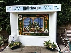 Millthorpe Well Dressing 2018 (Paul Conneally) Tags: england tradition art flowerart derbyshire millthorpe craft flower flowers welldressing