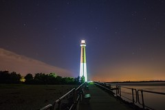 Long Exposure at Barnegat Lighthouse (Douglas Heusser Photography) Tags: lbi island photo heusser photography landscape canon lens 14mm rokinon exposure long jetty beach shore jersey new nice lighthouse barnegat