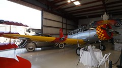 Vultee 54 SNV-2 Valiant in Addison (J.Comstedt) Tags: aircraft flight aviation air aeroplane museum airplane us force cavanaugh addison texas usa vultee 54 snv2 bt13 valiant navy 44177 usaaf 4432150