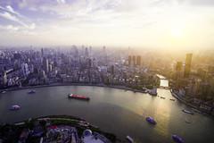 Bund - Shanghai Huangpu River (Tony Shi Photos) Tags: shanghai china asia bund puxi city urban architecture buildings landmark cityscape famous huangpuriver huangpu suzhouriver 外滩 上海 黄埔