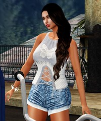 I.M. Collection@Designer Showcase - Down by the River (parisevermore) Tags: designershowcase imcollection littlebones hair tops shorts events