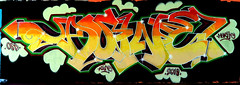 graffiti in Amsterdam (wojofoto) Tags: amsterdam nederland netherland holland amsterdamsebrug flevopark hof halloffame legalwall graffiti streetart wojofoto wolfgangjosten asine