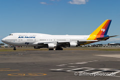 DQ-FJK (Airlinerphotos.de) Tags: airpacific b747400 syd