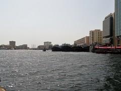 Abra Creek Crossing (28) (pensivelaw1) Tags: dubai unitedarabemirates river boats skyscrapers asia middleeast abracreekcrossing