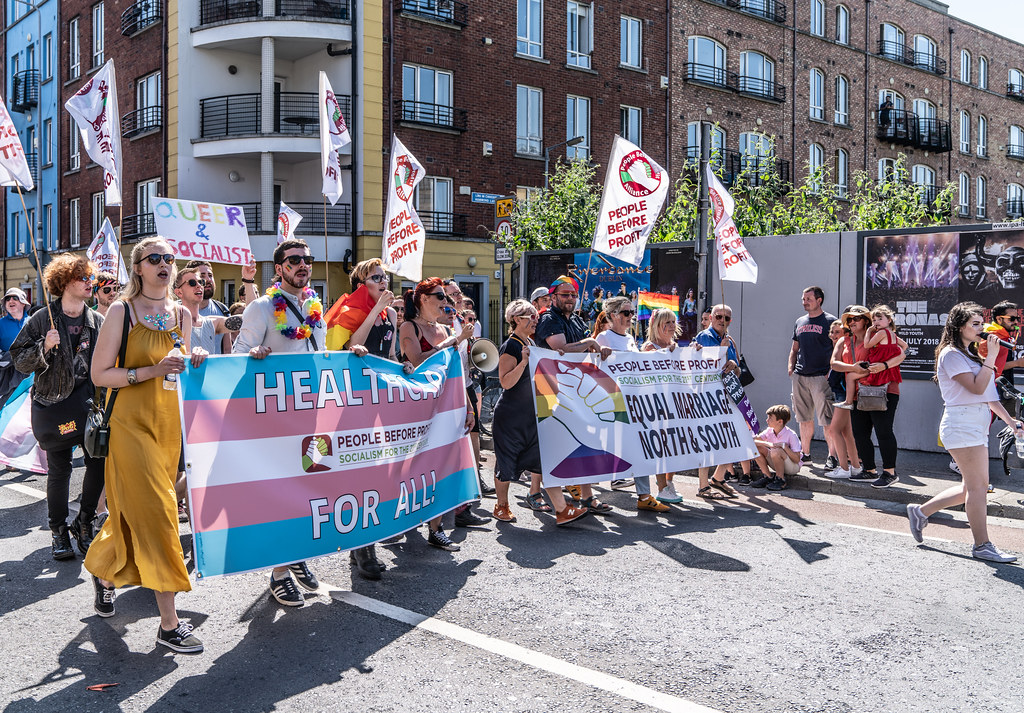 ABOUT SIXTY THOUSAND TOOK PART IN THE DUBLIN LGBTI+ PARADE TODAY[ SATURDAY 30 JUNE 2018] X-100010