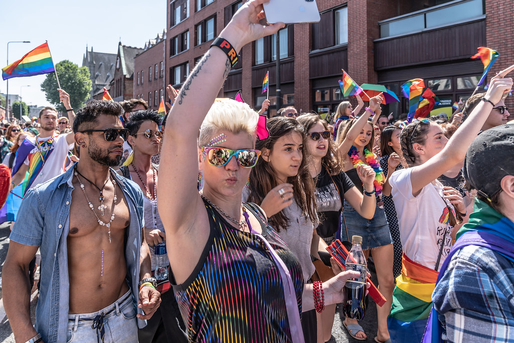 ABOUT SIXTY THOUSAND TOOK PART IN THE DUBLIN LGBTI+ PARADE TODAY[ SATURDAY 30 JUNE 2018] X-100234