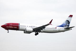 EI-FYF | Norwegian Air International | Boeing B737-8 MAX | CN 42829 | Built 2017 | DUB/EIDW 22/02/2018