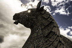 Kelpie (Norse_Ninja) Tags: sky kelpie kelpies horse statue scotland great britain uk united kingdom panasonic gh5 journeyjd17