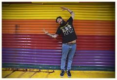 Lng/SHT (oscarinn) Tags: lngsht mexico hiphop rap df portrait retrato rainbow c condesa music maker