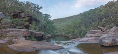 O'Hare's Creek, Dharawal National Park (Explored) (keithhorton3) Tags: ohares creek dharawal national park newsouthwales australia stream rocks lateafternoon nature panorama water landscape