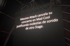 "Massive Attack - Mad Cool 2018 - Viernes - 1 - IMG-6800 • <a style=""font-size:0.8em;"" href=""http://www.flickr.com/photos/10290099@N07/41593457940/"" target=""_blank"">View on Flickr</a>"