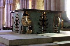 Arcabas & Etienne - Mobilier liturgique (Thethe35400) Tags: cathedrale saintmalo sculpture escultura eskultura skulptur estatua scultura scukpture mobilier liturgique tetramorphe tétramorphe