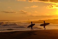 Wouldn't It Be Nice (mntkondr) Tags: hamamatsu shizuoka japan beach surfer sunset sea silhouette fufjifilm xh1 surfing