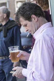 A multi-tasking man