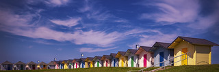 Mablethorpe Beach Huts.