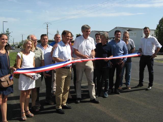 Inauguration de l'avenue de Guignard