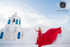 Santorini, the perfect photo session locations