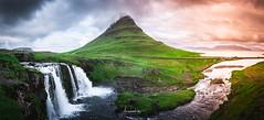 Kirkjufell panorama (AmaurieRaz) Tags: sony sonya9 panorama kirkjufell kirjufellfoss iceland travel traveling mountain waterfall falls landscape landscapephotography