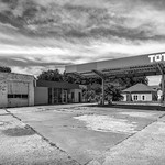 Abandoned Total Gas Station_BW thumbnail